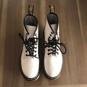 White Doc Marten Boots